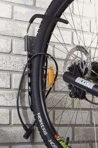 Mottez Range-vélos mural pour 1 vélo Fatbike-Détail de l'article
