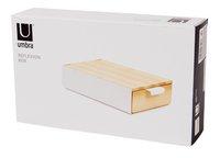 Umbra Boîte à bijoux Reflexion Box beige/blanc-Côté droit