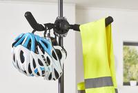 Mottez Fietsenrek met telescopische paal voor 2 fietsen-Artikeldetail