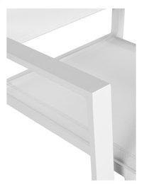 Chaise de jardin Victoria blanc-Détail de l'article