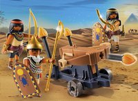 PLAYMOBIL History 5388 Soldaten van de farao met ballista-Afbeelding 1
