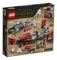 LEGO Star Wars 75250 La course-poursuite en speeder sur Pasaana-Arrière