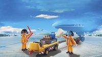 Playmobil City Action 5396 Luchtverkeersleiders met bagagetransport-Afbeelding 1
