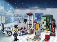Playmobil Christmas 9007 Calendrier de l'Avent Policier et cambrioleur-Image 1