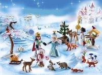 Playmobil Christmas 9008 Calendrier de l'Avent Famille royale en patins à glace-Image 1
