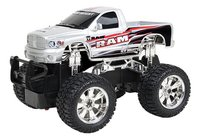 New Bright voiture RC Jeep RAM gris