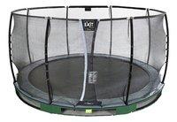 EXIT trampoline enterré avec filet de sécurité Elegant Ground Premium Deluxe Ø 4,27 m vert-Détail de l'article