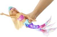 Barbie mannequinpop Dreamtopia Zwemmende zeemeermin-Afbeelding 2