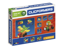 Clicformers Basic Set 70 stukjes