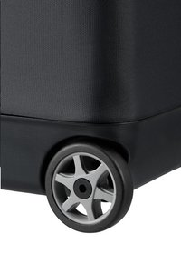 Samsonite zachte reistrolley Flux Soft Upright Black 55 cm-Onderkant