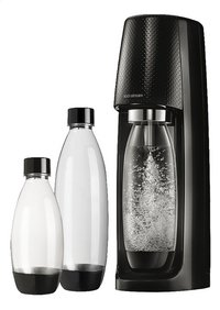 SodaStream Machine à soda Spirit Black Mega Pack noir-Avant