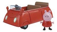 Set de jeu Peppa Pig voiture avec 1 figurine