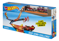 Hot Wheels autobaan Drop Down Challenge