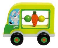 Scratch Europe Mijn eerste auto met konijn-commercieel beeld