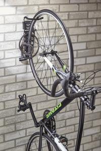 Mottez Range-vélos mural pour 1 vélo Fatbike-Image 6