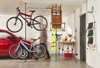 Mottez Fietsenrek met telescopische paal voor 2 fietsen-Afbeelding 6