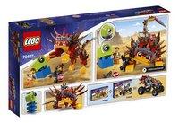 LEGO The LEGO Movie 2 70827 Ultrakatty & strijder Lucy!-Achteraanzicht