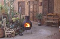 Mexicaanse chimenea jumbo bruin-Afbeelding 1