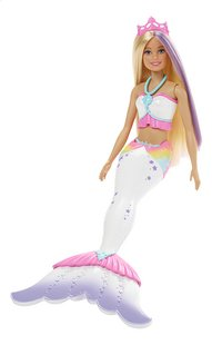 Barbie poupée mannequin  Dreamtopia Color Magic Mermaid-Côté droit