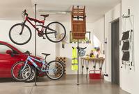 Mottez Fietsenrek met telescopische paal voor 2 fietsen-Afbeelding 8