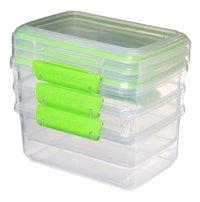 Sistema Boîte de conservation Fresh Rectangle 1 l - 3 pièces-Côté droit