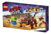 LEGO The LEGO Movie 2 70827 Ultrakatty & strijder Lucy!-Rechterzijde