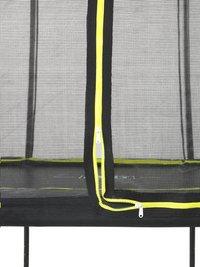 EXIT trampolineset Silhouette zwart L 3,66 x B 2,44 m-Onderkant
