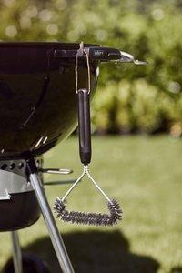 Weber Barbecue au charbon de bois set Master-Touch GBS E-5750 noir + pierre à pizza-Image 4