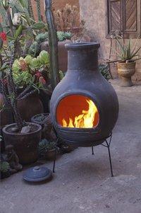 Mexicaanse chimenea jumbo grijs-Afbeelding 1