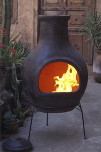 Mexicaanse chimenea jumbo bruin-Afbeelding 2