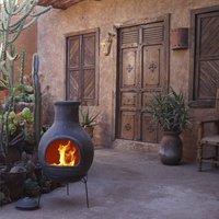 Mexicaanse chimenea jumbo grijs-Afbeelding 2