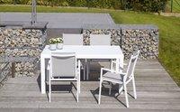 Chaise de jardin Forios gris clair/blanc-Image 4