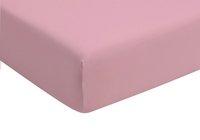 Romanette Hoeslaken roze double jersey
