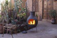 Mexicaanse chimenea jumbo grijs-Afbeelding 3