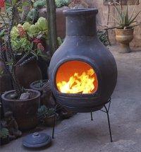 Mexicaanse chimenea jumbo grijs-Afbeelding 4