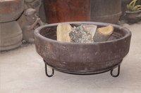 Brasero Aztec brun diamètre 45 cm-Image 4