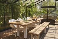 Hartman chaise de jardin Sophie Organic Studio blanc - 2 pièces-Image 5