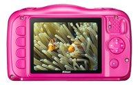 Nikon appareil photo numérique Coolpix W100 rose-Arrière
