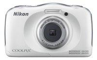 Nikon appareil photo numérique Coolpix W100 blanc