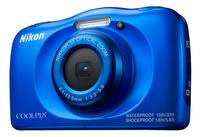 Nikon digitaal fototoestel Coolpix W100 blauw-Rechterzijde
