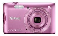 Nikon appareil photo numérique Coolpix A300 rose