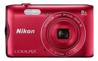 Nikon appareil photo numérique Coolpix A300 rouge