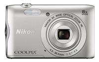 Nikon appareil photo numérique Coolpix A300 argenté