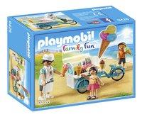 PLAYMOBIL Family Fun 9426 Ijsjesverkoper-Linkerzijde