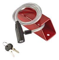 Mottez Ankerslot + anti-diefstal kabel-Vooraanzicht