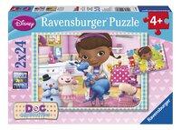 Ravensburger puzzle 2 en 1 Docteur La Peluche