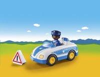 PLAYMOBIL 1.2.3 9384 Voiture de police-Image 1