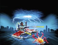 PLAYMOBIL Ghostbusters 9387 Zeddemore avec scooter des mers-Image 1