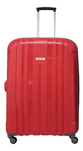 Saxoline Valise rigide Summerbreeze Spinner rouge