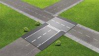 LEGO City 60236 Droite et intersection-Image 1